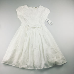 Girls Osh Kosh, flower girl / party / first holy communion, floral print lined dress , NEW, size 6