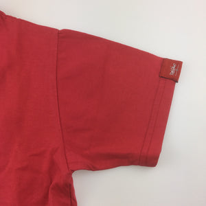 Boys Mossimo, red t-shirt / tee / top, GUC, size 6