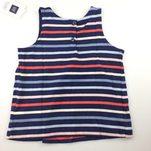 Load image into Gallery viewer, Girls Baby Gap, striped swing tank top, NEW, size 2