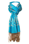 Decorish Women's Grand Floral Pashmina Scarf