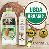 Tropicana Pure Virgin Thai Coconut Oil ORGANIC for Hair Skin Face Unrefined