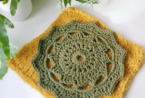 Textured mandala layer