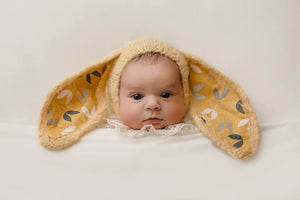 RTS Yellow Bunny Bonnet