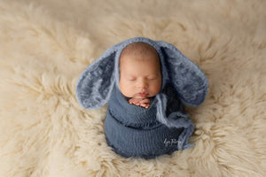 Light Blue Bunny Bonnet