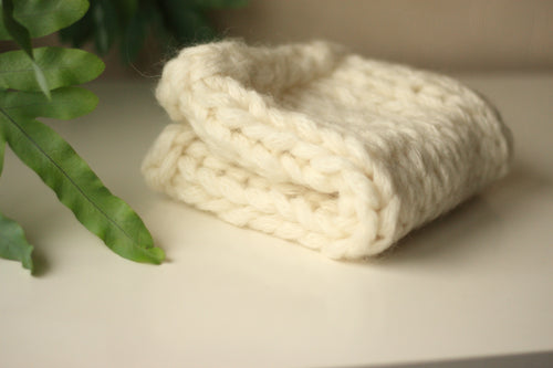 30% OFF - Cream Chunky Layer, Basket Stuffer