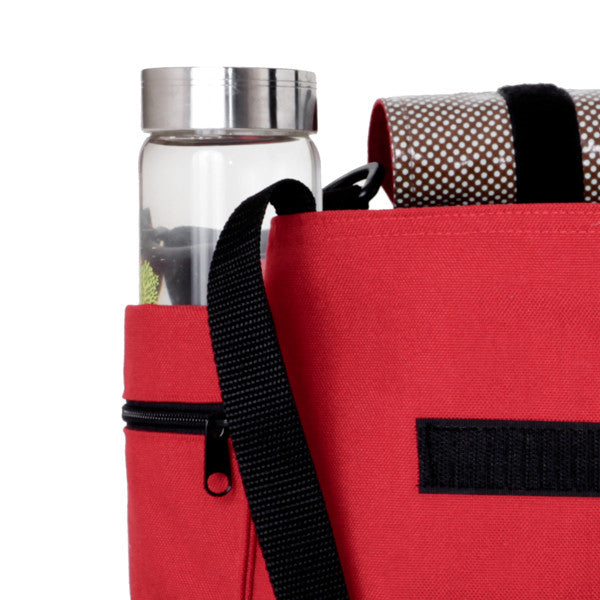 Water bottle pocket, yoga bag