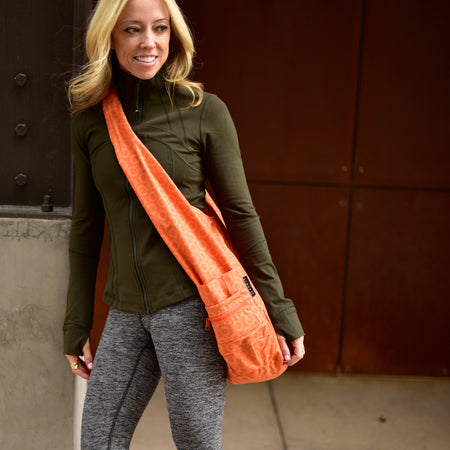 Yoga Sling Bag, Orange
