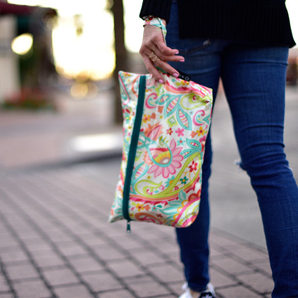 Carry All  Bag, Medium Floral