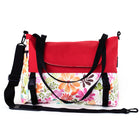 Go Anywhere Bag, Red Flower