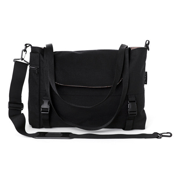Go Anywhere Bag, Black Canvas