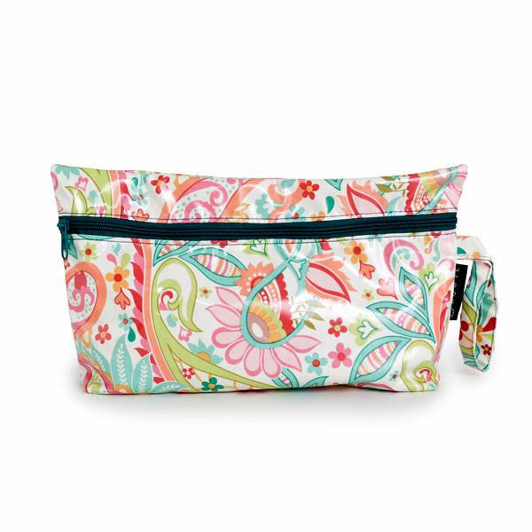 hot yoga, carry all bag, medium make-up bag, gym bag