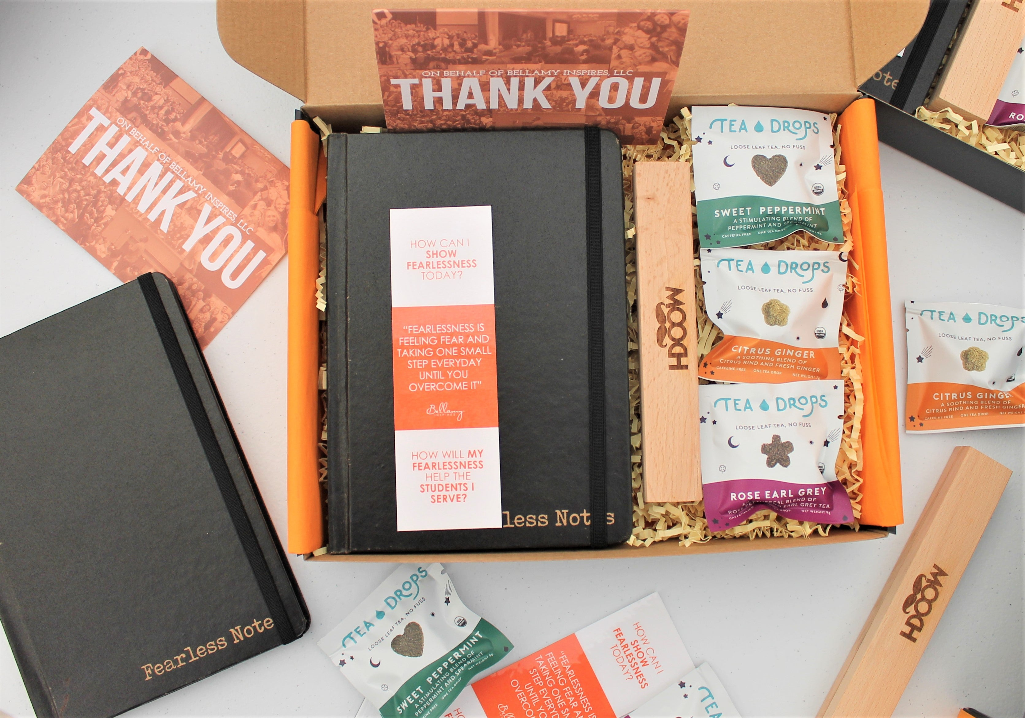 Branded products for client gifting