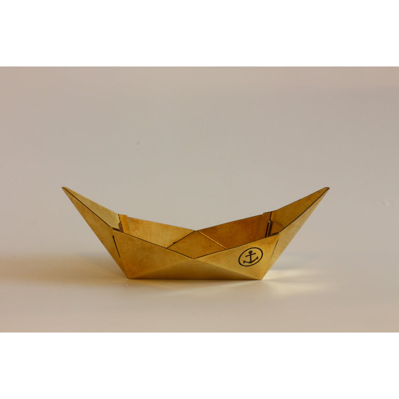 play boat and fish shaped pins in Brass. Desk makeover essentials.