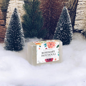 Rosemary Patchouli - Coconut Milk Soap - TheArtsyBox