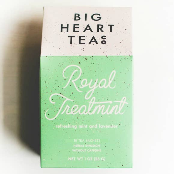 Royal treatmint box with tea bags