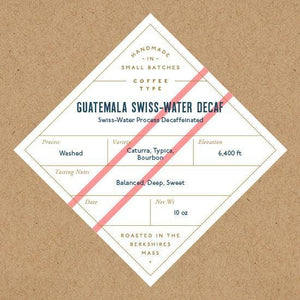 Guatemala Swiss Water Decaf Whole Bean Coffee 10oz - TheArtsyBox