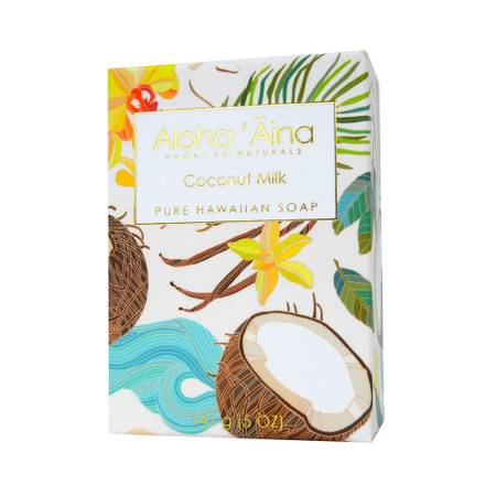 Coconut Milk - Hawaiian Aromatherapy Pure Soap - TheArtsyBox