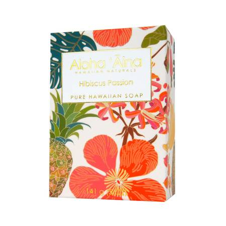 Hibiscus Passion - Hawaiian Aromatherapy Pure Soap - TheArtsyBox