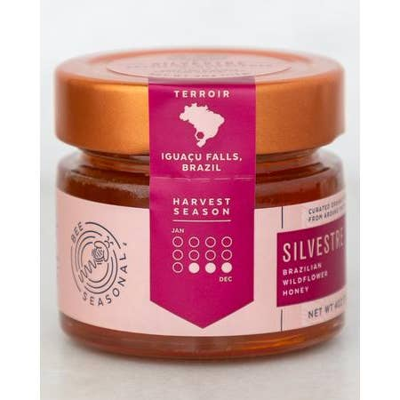 Silvestre - Organic Brazilian Iguaçu River Wildflower Honey - TheArtsyBox