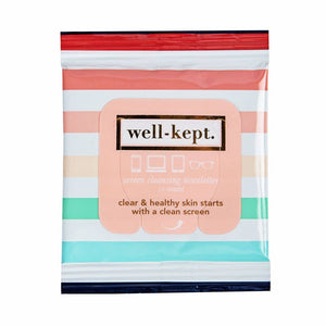 Well kept tech wipes