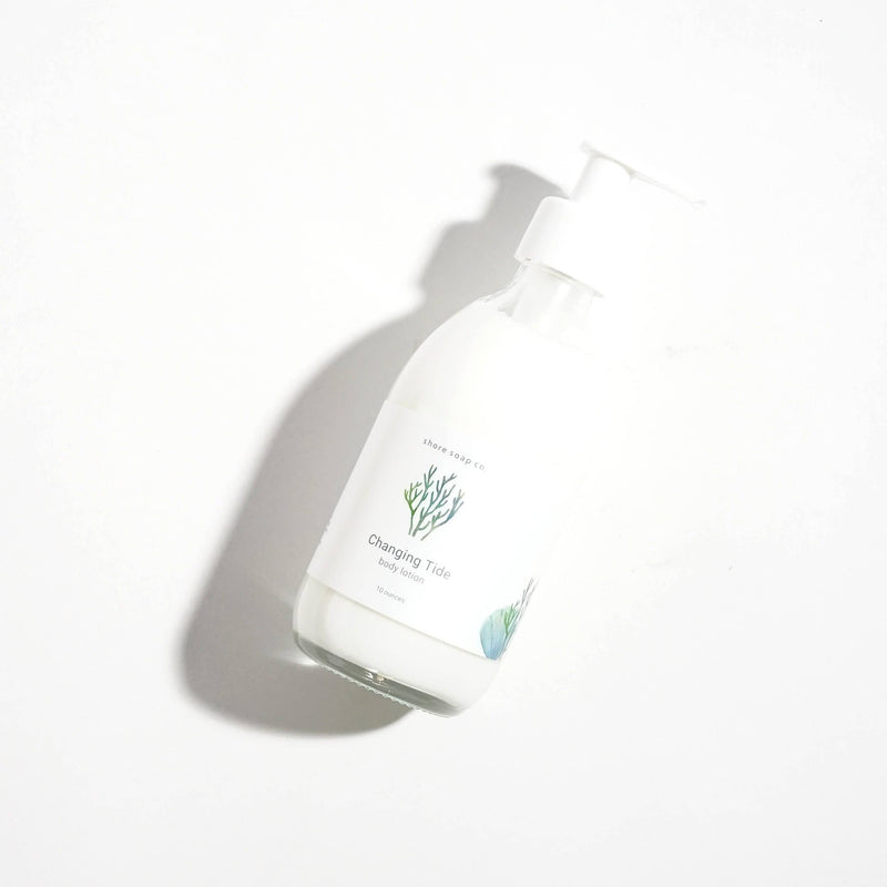 Changing tide hand lotion by Shore soap co