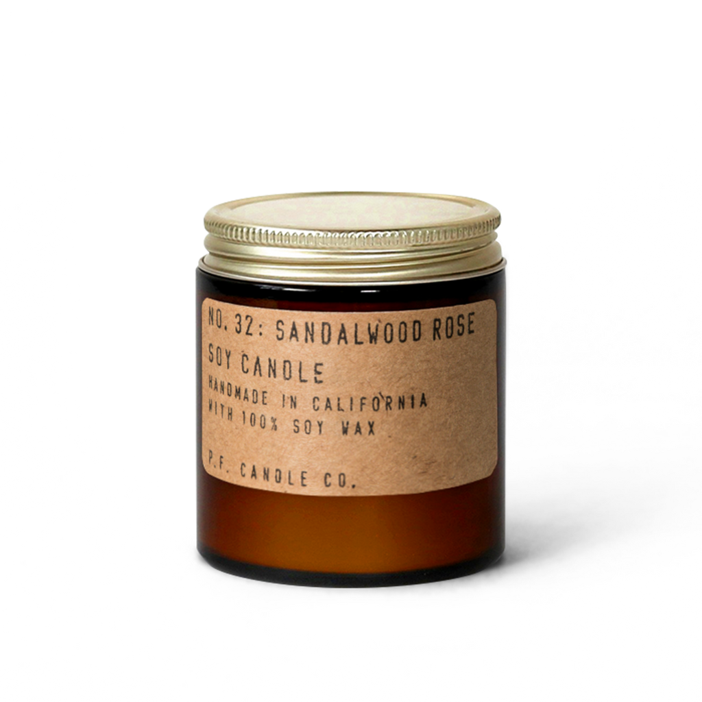 Sandalwood Rose - Mini Soy Candle - TheArtsyBox