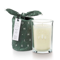 Juniper moss soy candle perfect for gifting