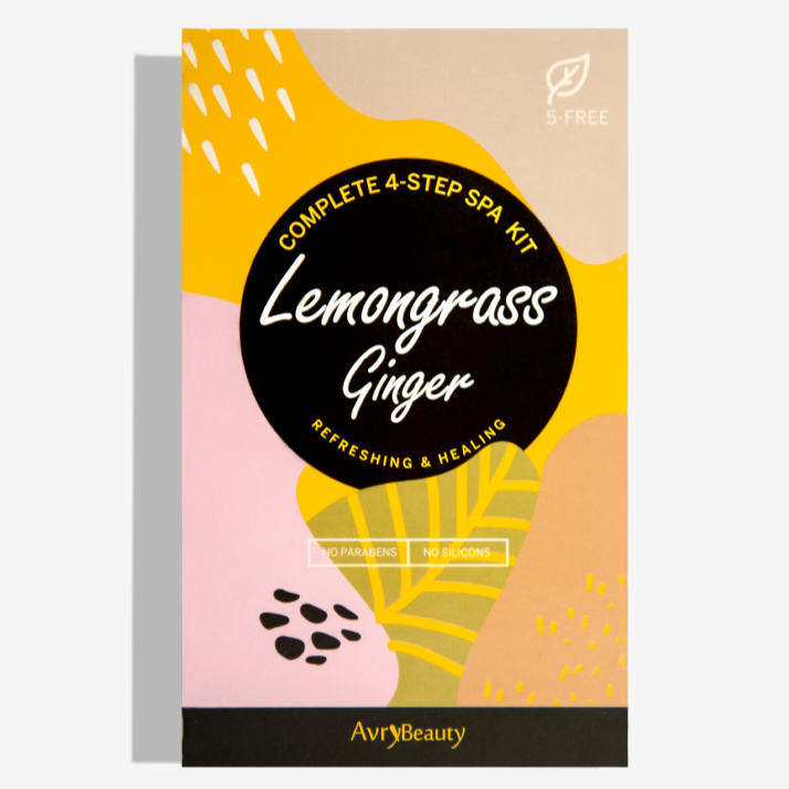 Lemongrass & Ginger - 4 Step Spa Kit - TheArtsyBox
