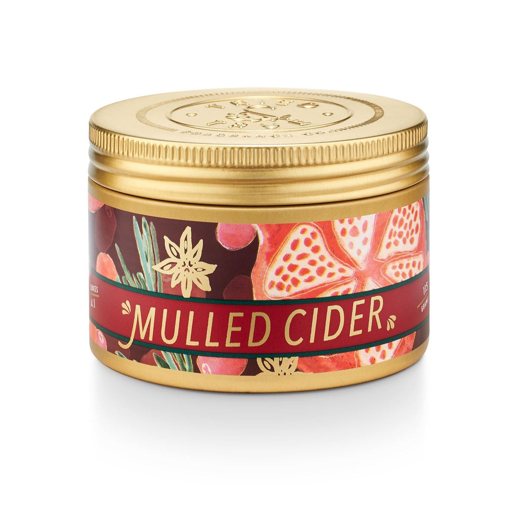 Mulled Cider Small Tin Candle