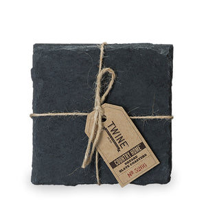 Country Home: Square Slate Coasters - TheArtsyBox