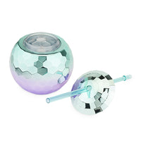 Assorted Ombre Disco Ball Drink Tumblers by Blush