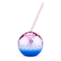 Assorted Ombre Disco Ball Drink Tumblers by Blush - TheArtsyBox