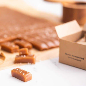 Smoked Butterscotch Caramels - 4oz box