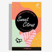 Sweet Citrus - 4 Step Spa Kit - TheArtsyBox