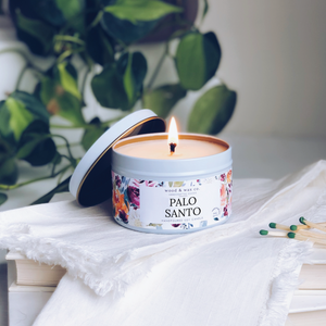 Palo Santo - Soy Candle Tin - TheArtsyBox