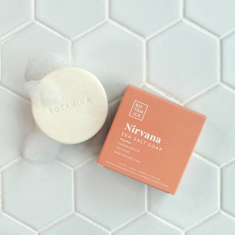 Nirvana Sea Salt Soap by Botanica