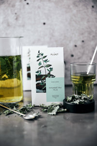 Peppermint Tea - aromatic, whole loose leaves, Nordic mint