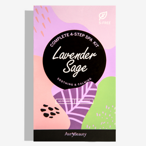 Lavender Sage - 4 Step Spa Kit - TheArtsyBox