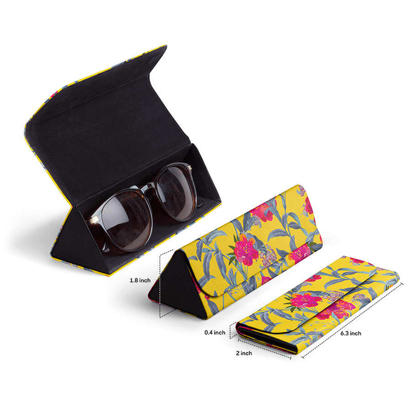 Come Into Bloom - Foldaway Slim Eyewear/Sunglass Case - TheArtsyBox