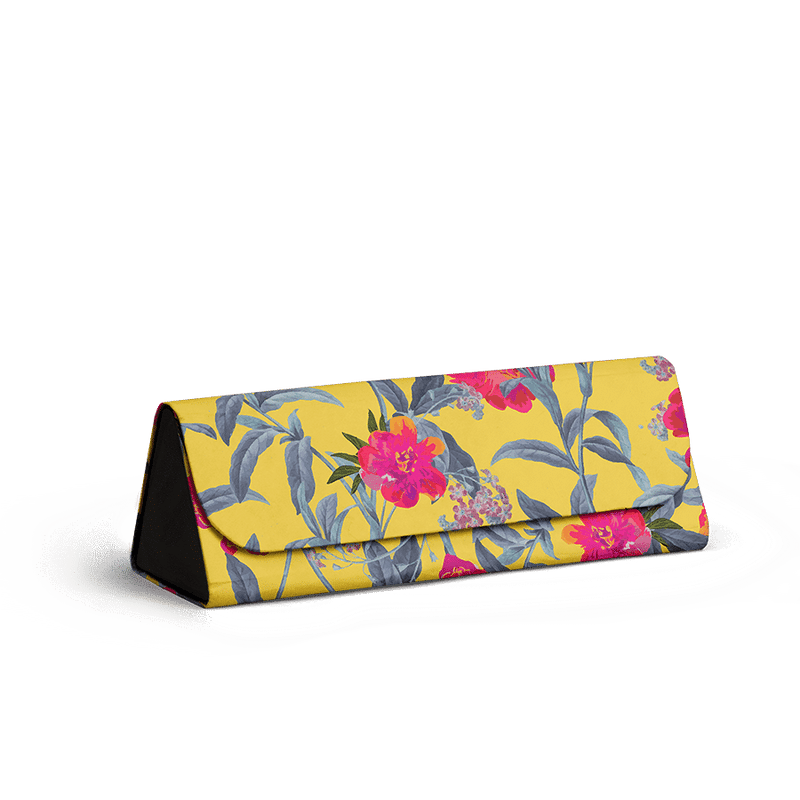 Come Into Bloom - Foldaway Slim Eyewear/Sunglass Case