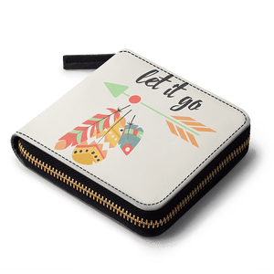 Feathers 48 Zip Wallet