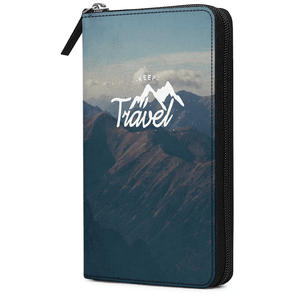 Keep Travel Travel Organizer Passport Wallet - TheArtsyBox