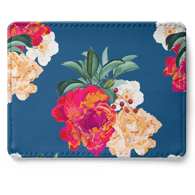 Romancing Nature Skinny Fit Card Wallet