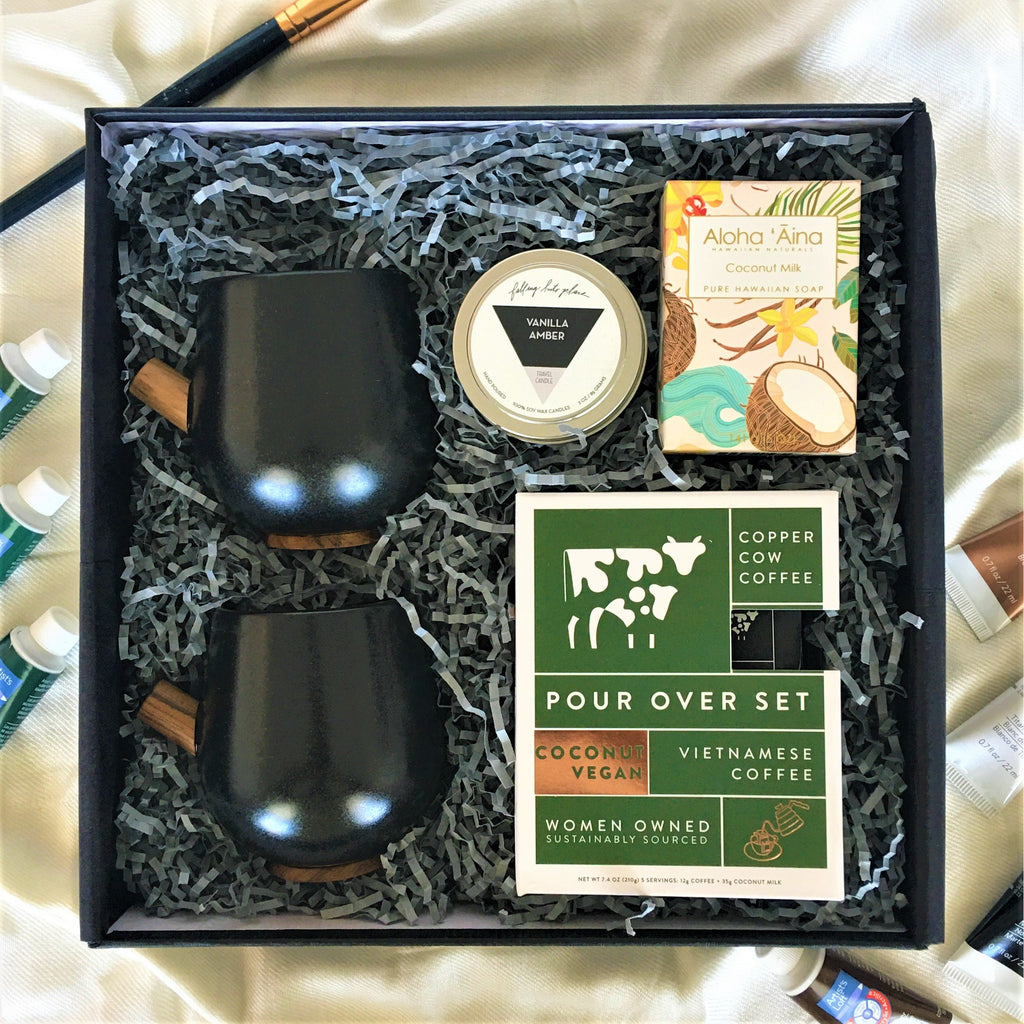 Art in the box edition - The Coconut Shot - TheArtsyBox