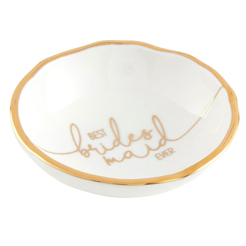 Best bridesmaid ever - Jewelry dish - TheArtsyBox