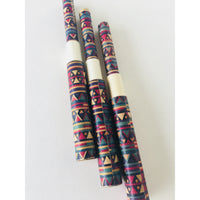 Tribal pattern paper pen - Blue - TheArtsyBox