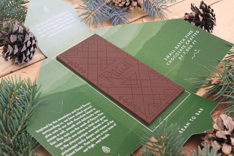 Pine Nut Chocolate Bar