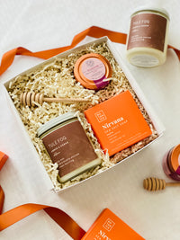 Gender neutral fall inspired gift box