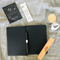 Flat lay of Stationery items perfect for desk makeover, new job gifts etc.