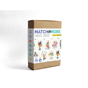 Match & More - Circus Circus - TheArtsyBox